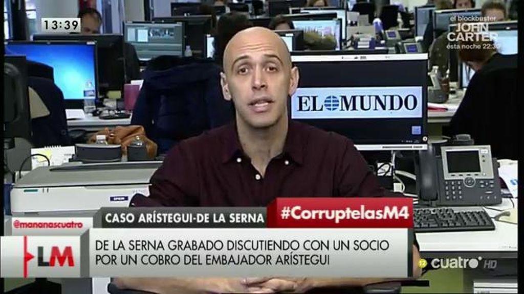Arístegui seguía controlando Karistia en 2014, según Quico Alsedo