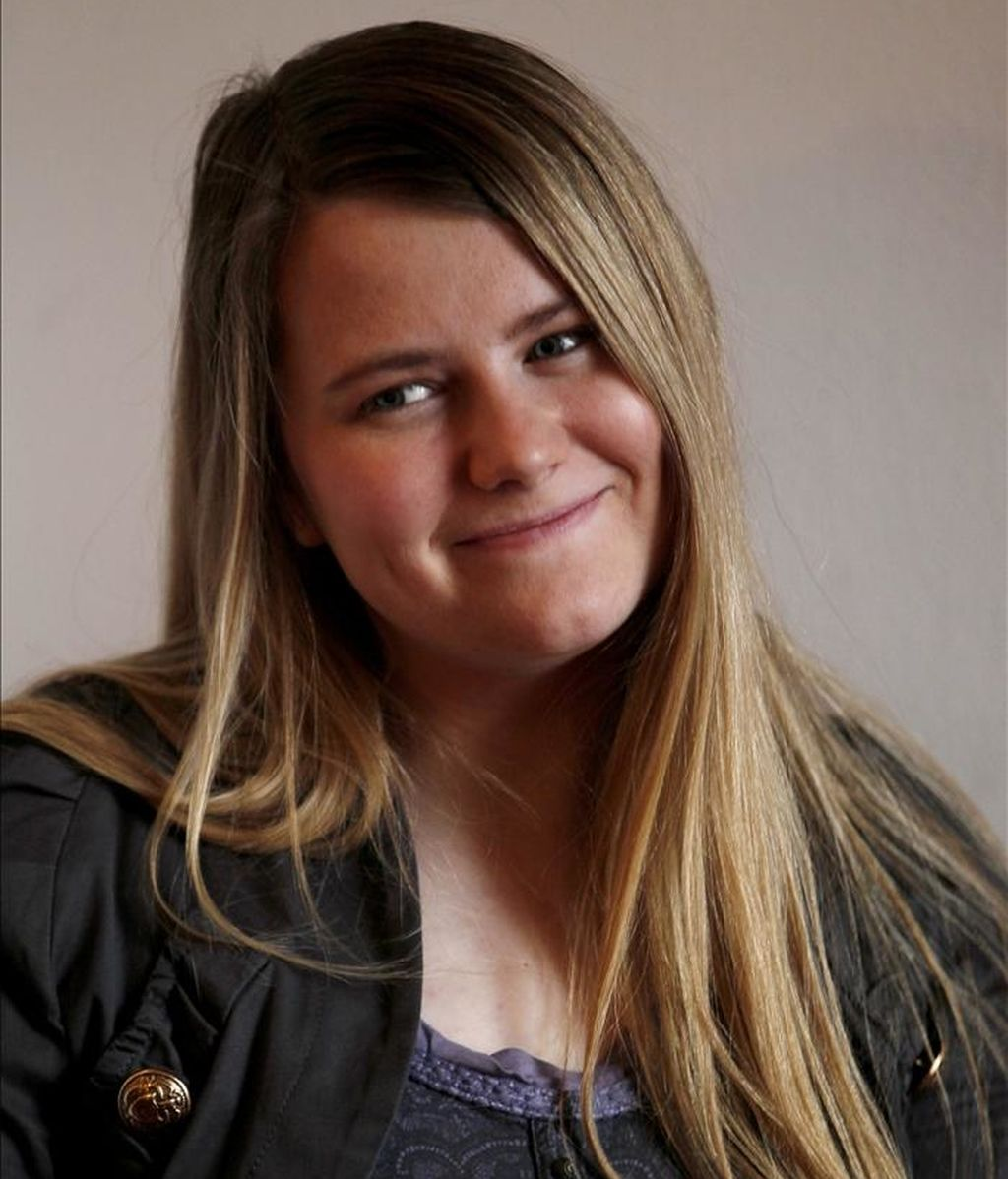 Natascha Kampusch, la joven austríaca que en 2006 se dio a conocer en todo el mundo por haber permanecido secuestrada durante ocho años. EFE