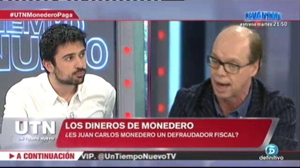 """R. Espinar: """"El caso de Monedero es un problema de un ciudadano con Hacienda"""""""