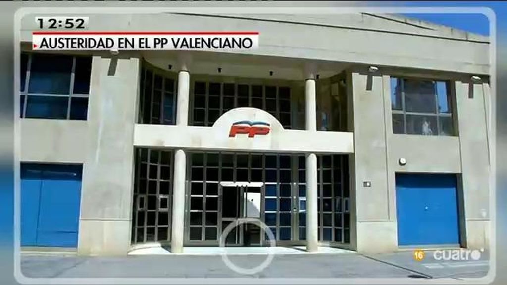 El PP valenciano tiene que cambiar de sede