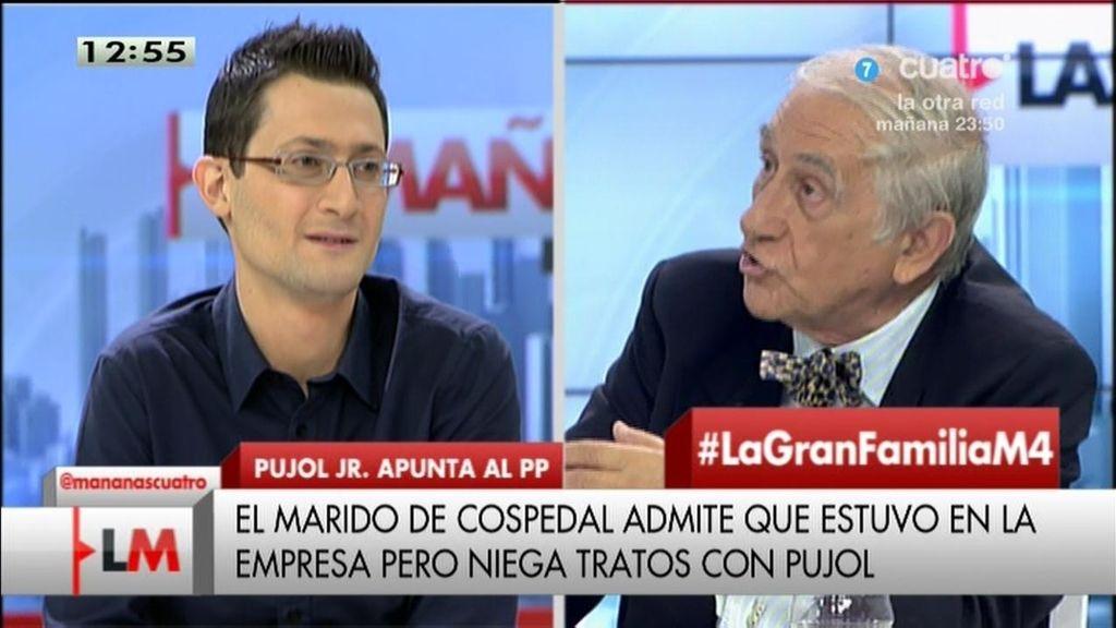 """Ángel Calleja: """"El marido de Cospedal  es un ejemplo del capitalismo de amiguetes"""""""