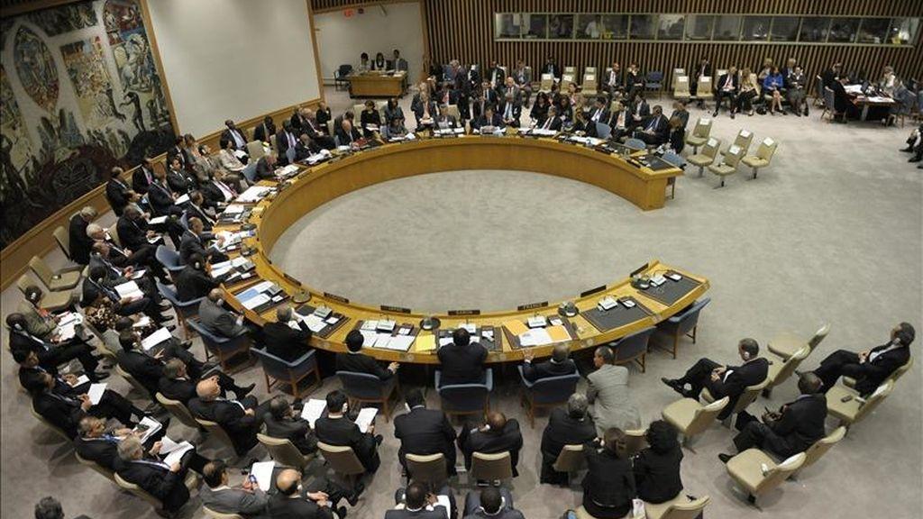 Al no lograrse el acuerdo, el Consejo de Seguridad de la ONU decidió celebrar una reunión abierta para que las delegaciones occidentales pidan individualmente el cese de la violencia. EFE/Archivo