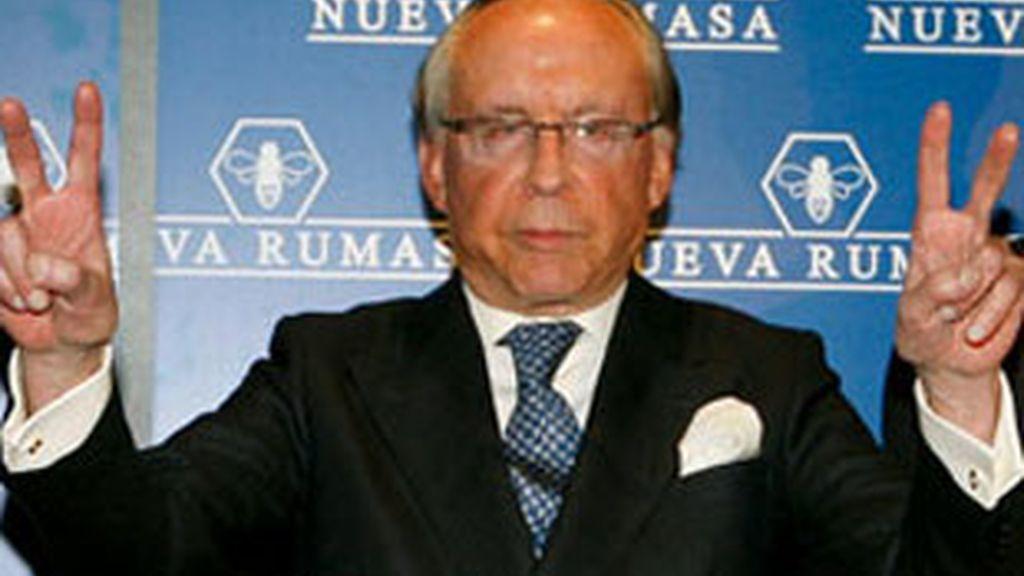 Imagen de archivo de José María Ruiz Mateos. Vídeo: Informativos Telecinco