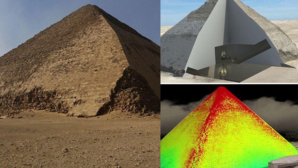 ¿Qué hay realmente dentro de las pirámides?