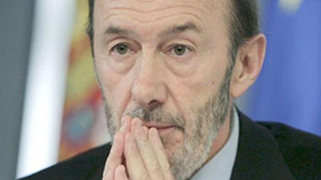 Alfredo Pérez Rubalcaba, el candidato del Comité Federal del PSOE.
