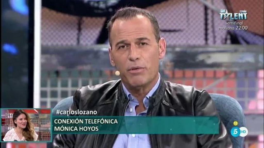 "Mónica Hoyos entra por teléfono en el 'Deluxe': ""No permito que me llaméis sucia"""