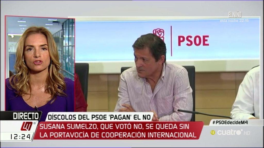 """Sumelzo (PSOE) se enteró de su cese por los medios: """"Prefiero no hacer valoraciones"""""""