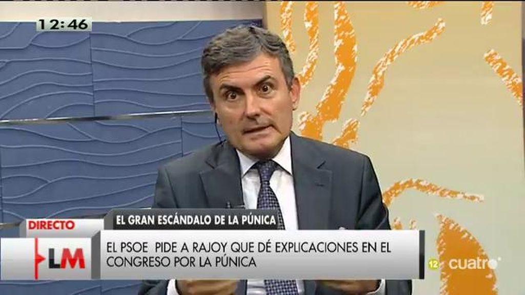 """Pedro Saura: """"El PP de Rajoy está hasta las cejas en la corrupción"""""""