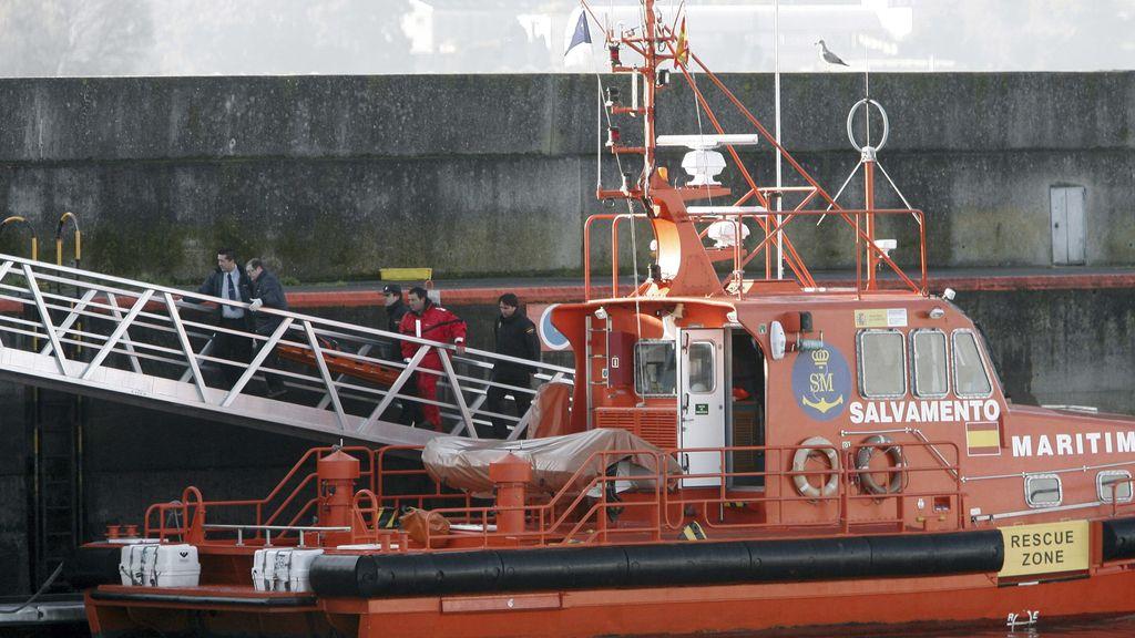 El cuerpo del policía ahogado en Coruña