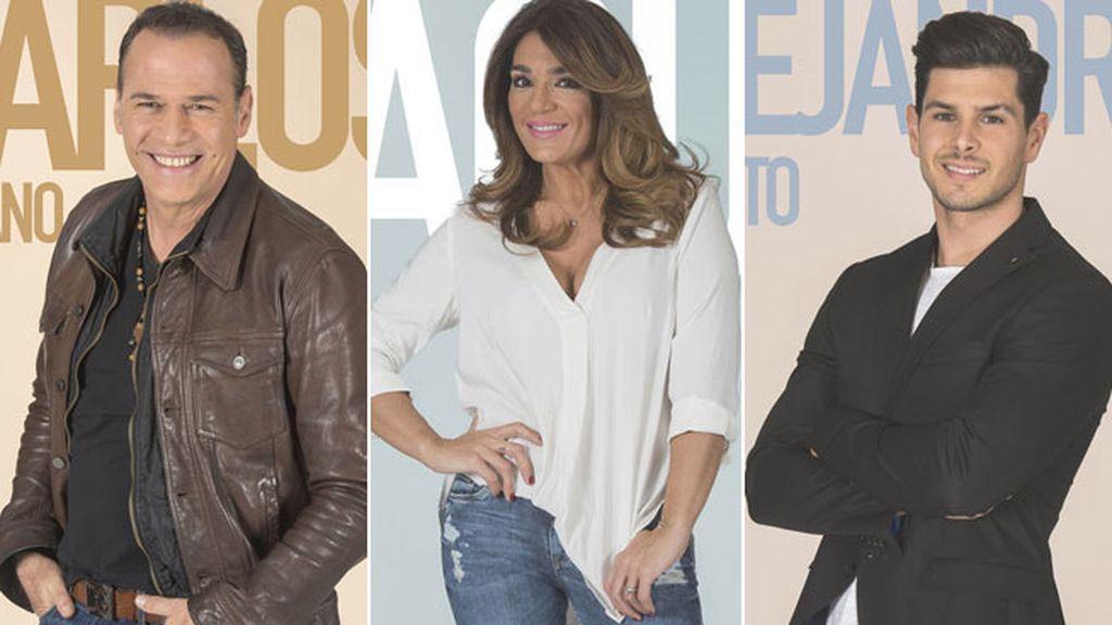 Raquel Bollo, Carlos Lozano y Alejandro, nuevos nomiados de la semana