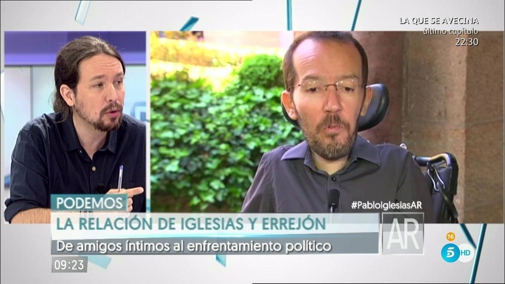 "Iglesias: ""Echenique no es ni 'pablista' ni 'errejonista', sino que es 'podemista'"""