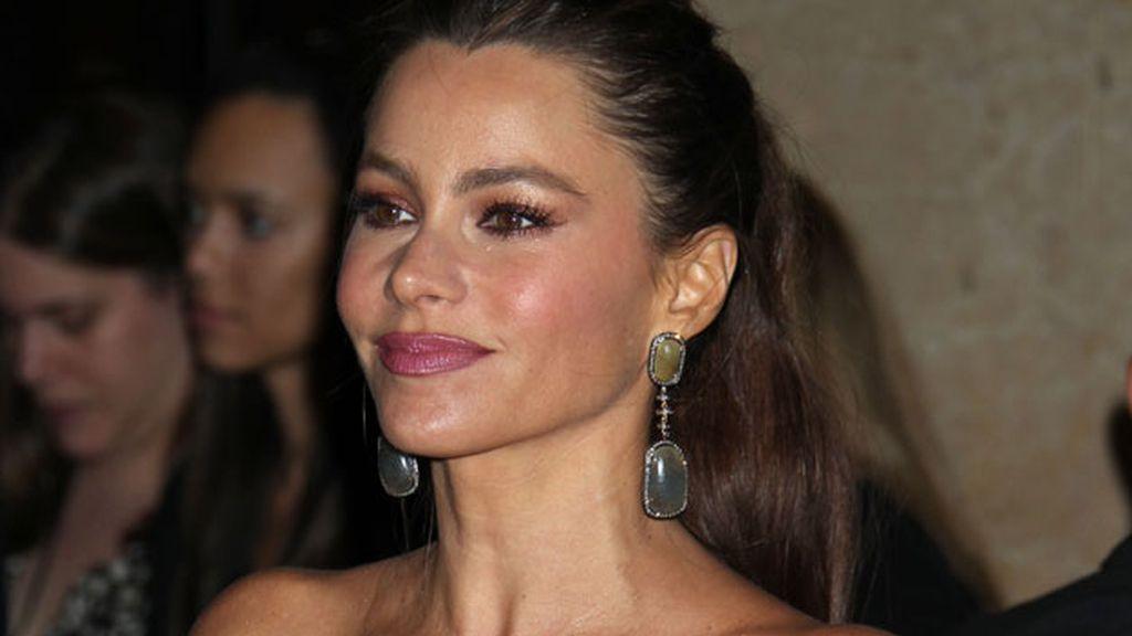 Sofía Vergara en la entrega de premios de la Asociación de Productores en Beverly Hills