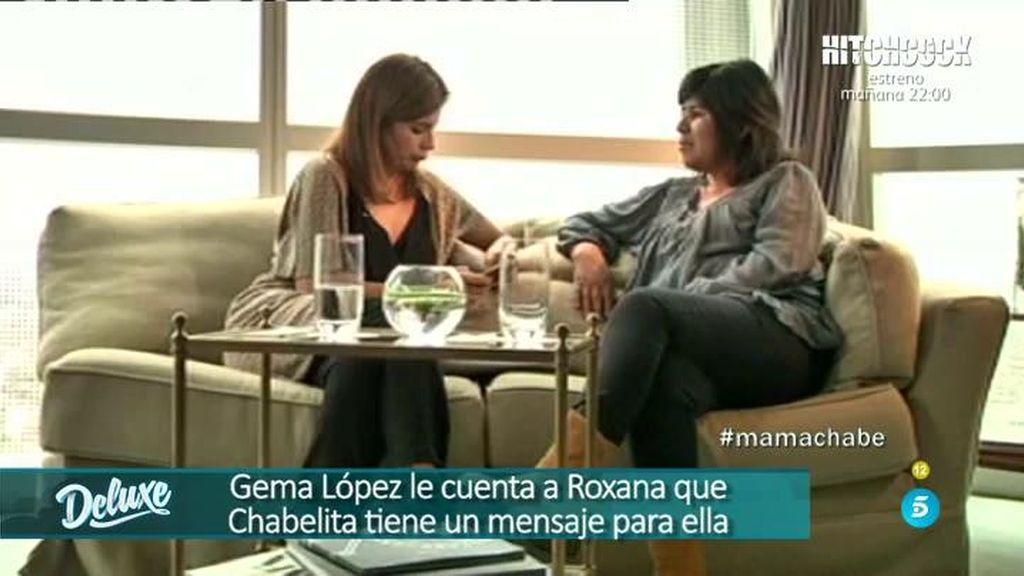 Chabelita confirmó a Gemma López que no quiere saber nada de su madre biológica