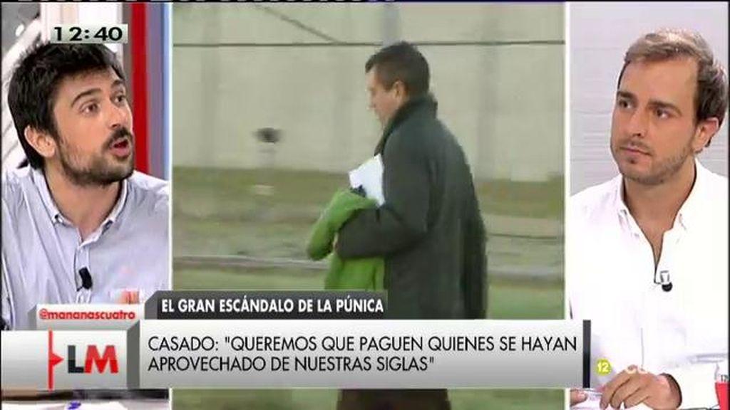 """Javier Dorado: """"No voy a permitir que por 10, 15 o 100 quede manchada la dignidad y la honorabilidad de 800.000"""""""