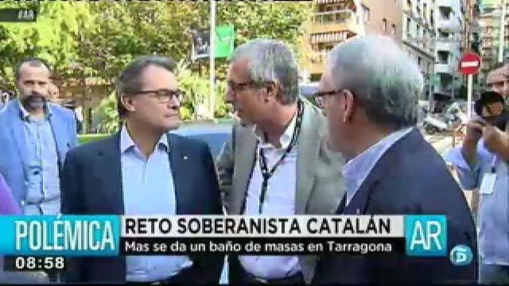 Artur Mas hacen oídos sordos a la prohibición del Constitucional