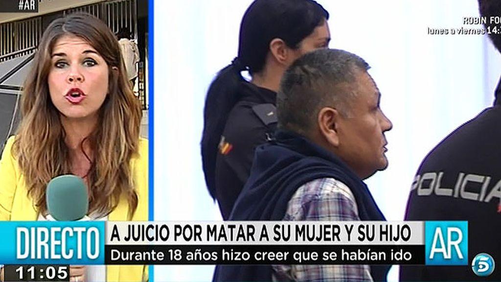 Ramallo se sienta en el banquillo de los acusados tres años después de encontrarse los cuerpos de su mujer y su hijo