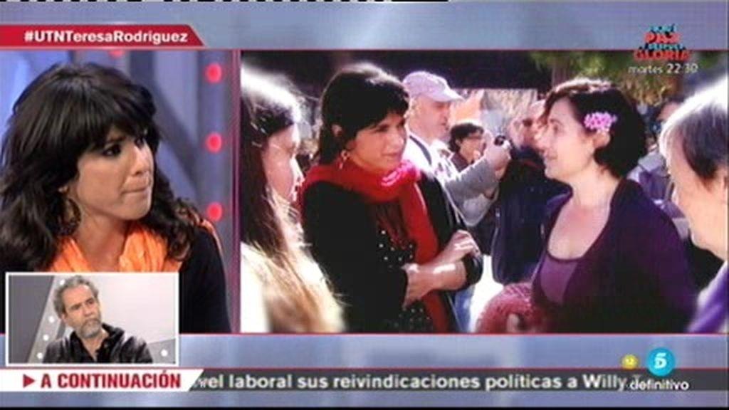 """Teresa Rodríguez: """"El PSOE sigue ganando en Andalucía porque Podemos no ha podido"""""""