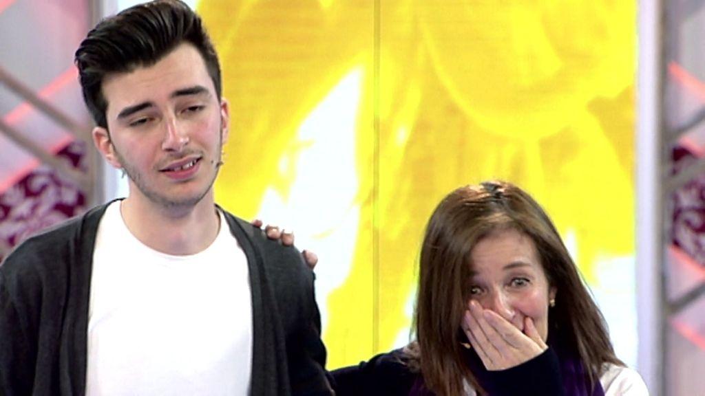 """Jorge da una sorpresa a su madre: """"Quiero que vuelva a creer en ella y en el amor"""""""