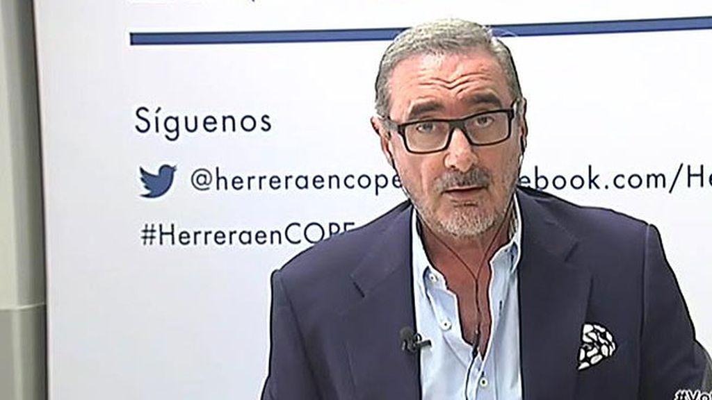 """Herrera: """"Que Carmena no vaya a la final porque no va su amiguita Ada es lamentable"""""""
