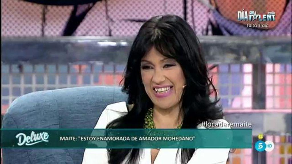 """Maite, sobre Amador: """"Me dijo que no funciona en la cama pero que tiene recursos"""""""