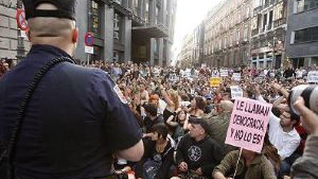 De nuevo en la calle. Foto: EFE.