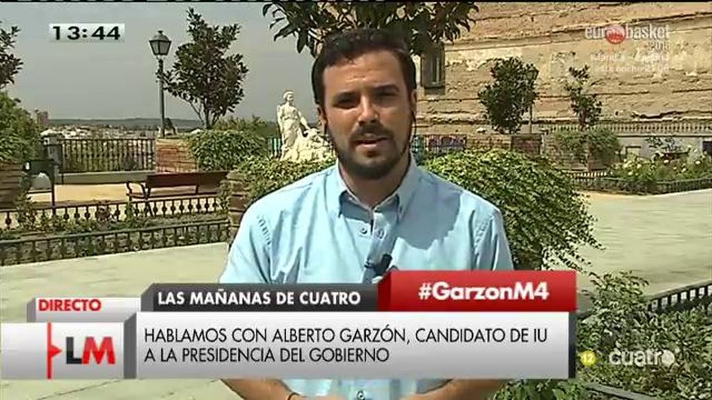 La entrevista con Alberto Garzón, a la carta