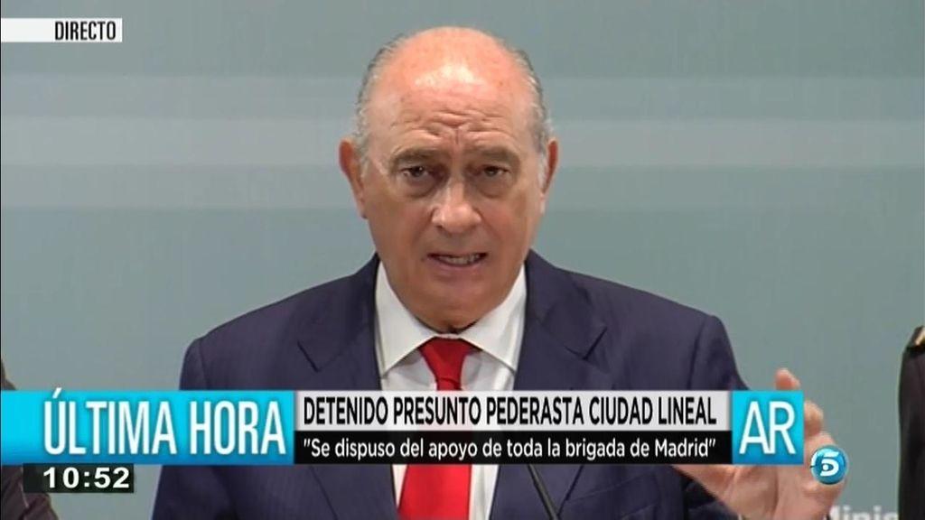 """Fernández Díaz: """"Es un varón de 42 años con antecedentes de abusos a una menor"""""""
