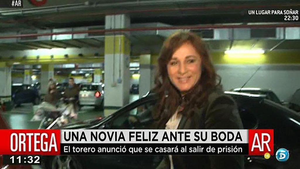 """Ana María Aldón: """"José está muy guapo"""""""