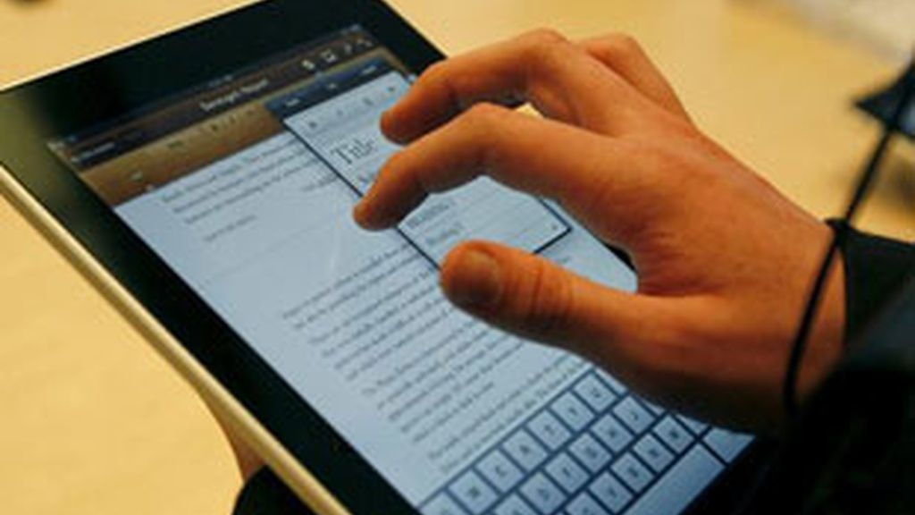 Textos históricos disponibles para iPad.