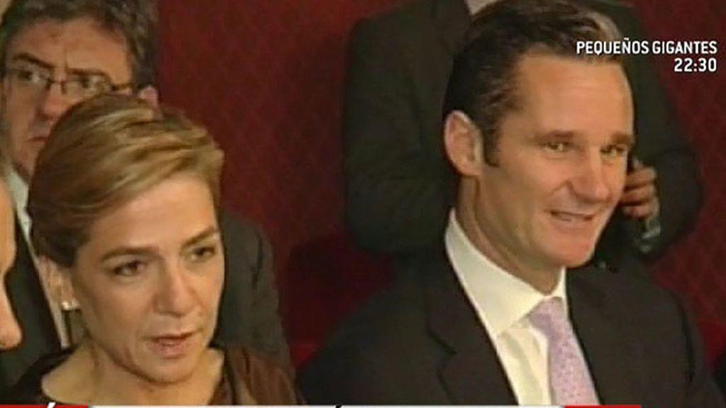 Iñaki Urdangarin vuelve a la vida pública en las bodas de oro de Constantino de Grecia