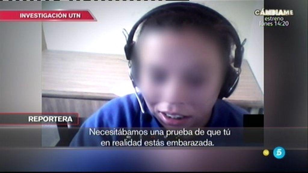 Investigación 'UTN': La madre cifra en 10.600 euros la venta de su bebé