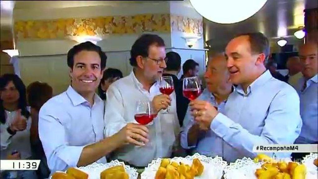 El menú de la campaña electoral