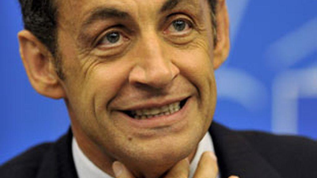 Nicolás Sarkozy, presidete de la República francesa.