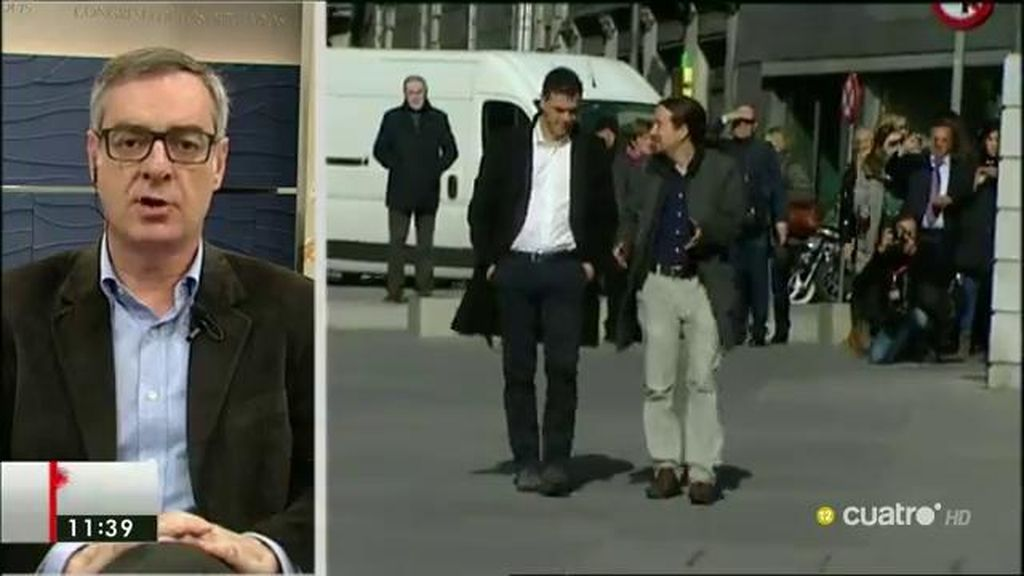 """J. M. Villegas (C's): """"No nos resignamos al fracaso, a que haya nuevas elecciones"""""""
