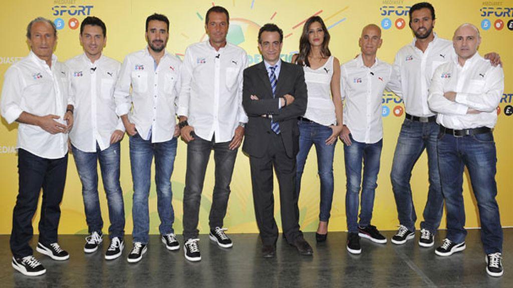 Nuestro equipo para la Copa Confederaciones