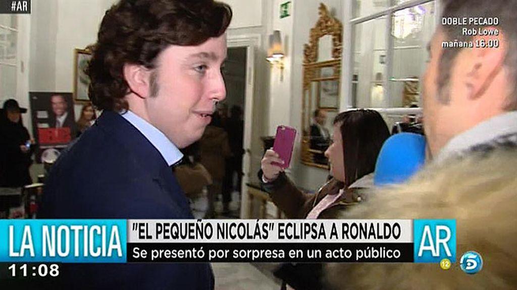 Francisco Nicolás eclipsa a Ronaldo