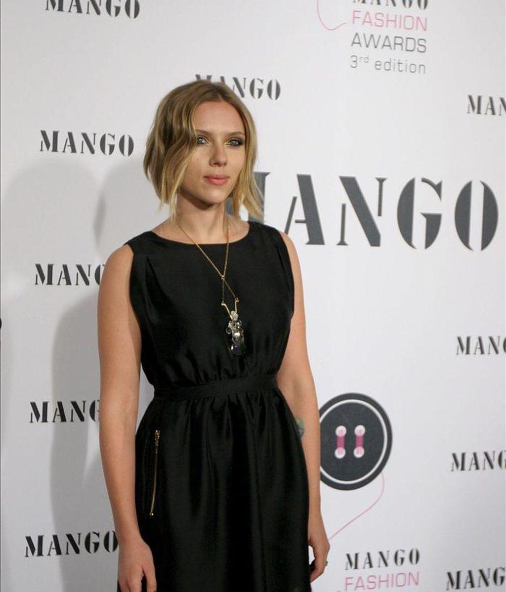 La actriz norteamericana Scarlett Johansson. EFE/Archivo