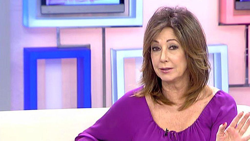 """Ana Rosa apoya a 'Sálvame':  """"El mando a distancia es absolutamente libre y gratuito"""""""