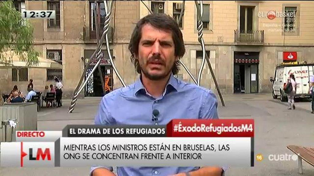 "Ernest Urtasun: ""España incumple la ley en materia de asilo de forma constante"""