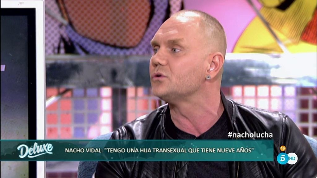 """Nacho Vidal y su dura historia: """"Tengo una hija transexual con sólo nueve años"""""""
