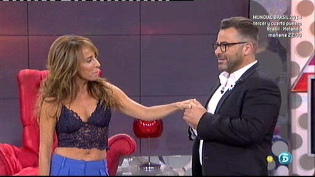 María Patiño debuta como presentadora