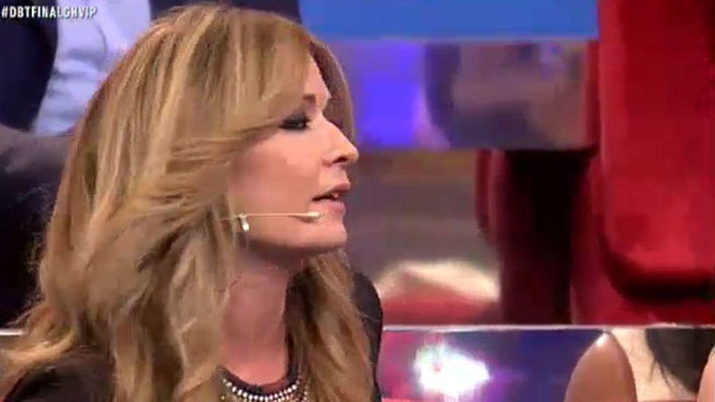 """Olvido Hormigos, a Belén: """"Me ha dicho Mila Ximénez que no te acerques a ella"""""""