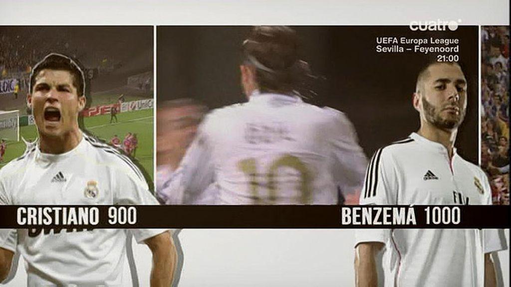 Di Stefano, Puskas, Guti, Beckham, Raúl, CR7…. Y Benzema marcó el gol 1000