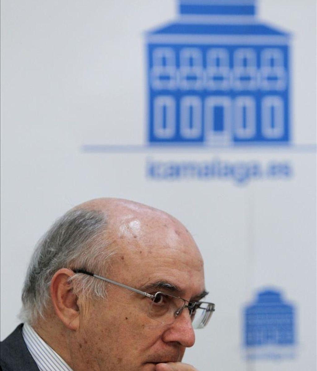 El presidente del Consejo General de la Abogacía Española (CGAE), Carlos Carnicer. EFE/Archivo