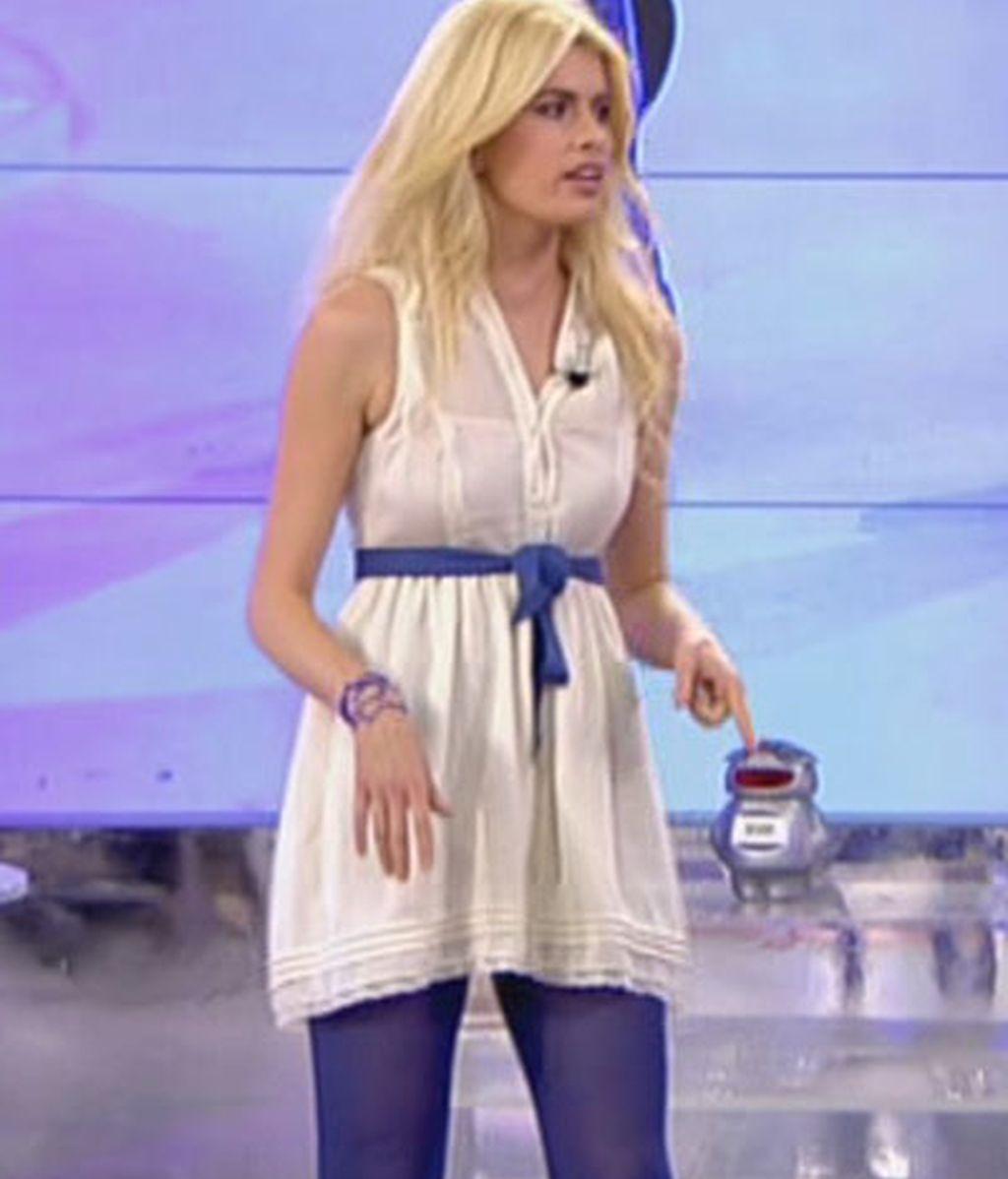 Adriana Abenia, pitufina