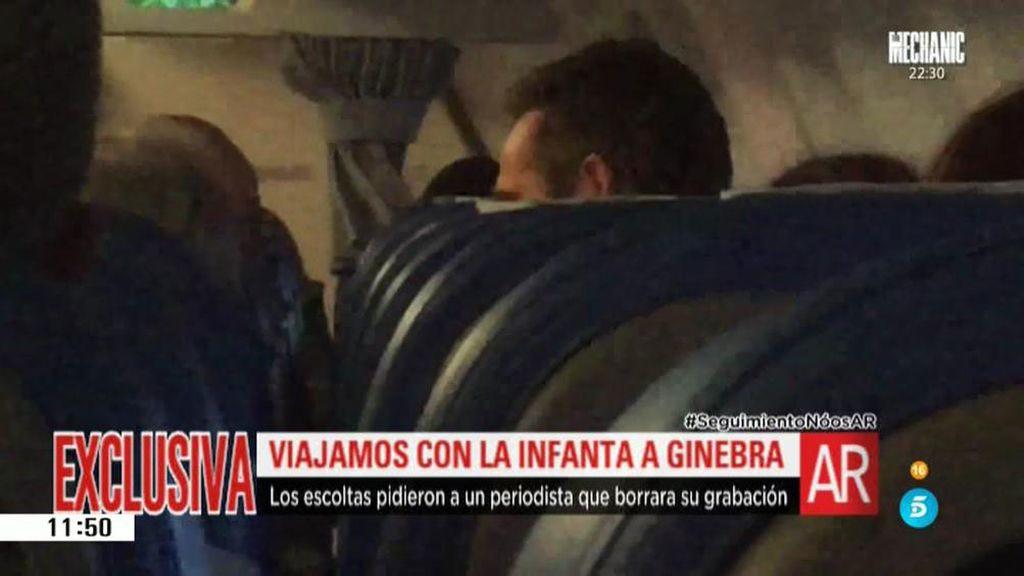 'El programa de Ana Rosa' viaja con la Infanta e Iñaki Urdangarin a Ginebra