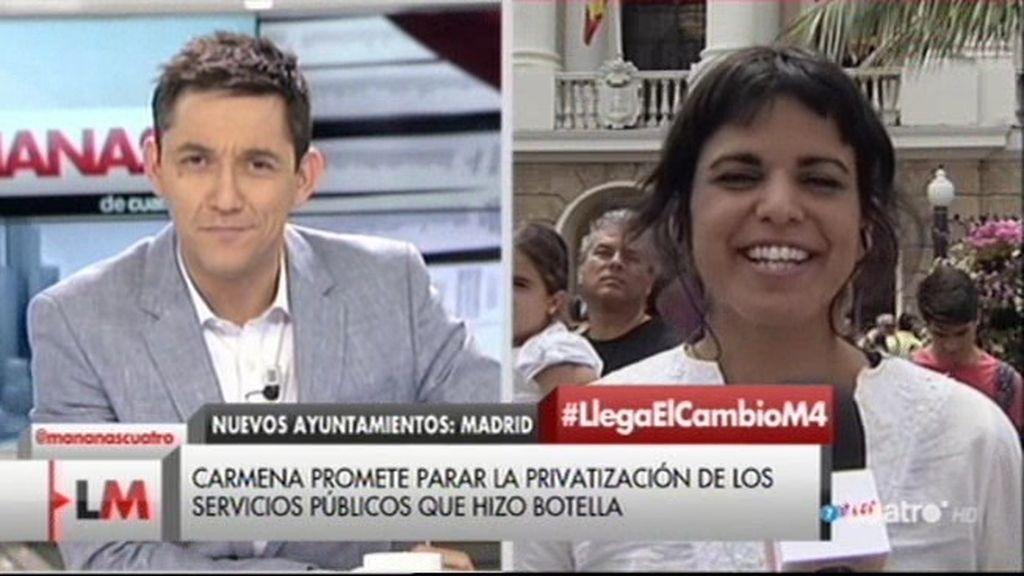 """Teresa Rodríguez: """"Los gaditanos tendrán un aliado en el ayuntamiento de Cádiz"""""""