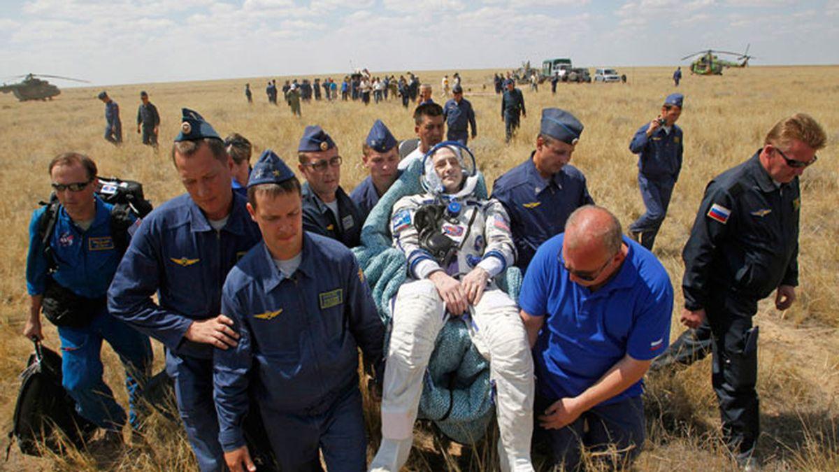 Regreso de la Soyuz