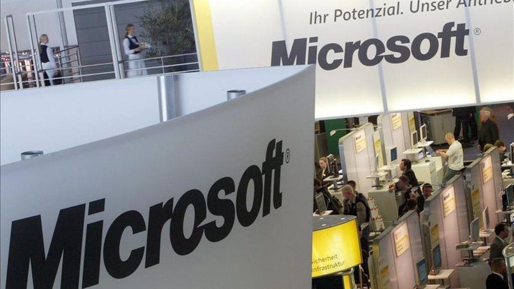 El fabricante del sistema operativo Windows explicó hoy en un comunicado de prensa que la operación ya ha sido aprobada por los consejos de administración de ambas empresas. EFE/Archivo