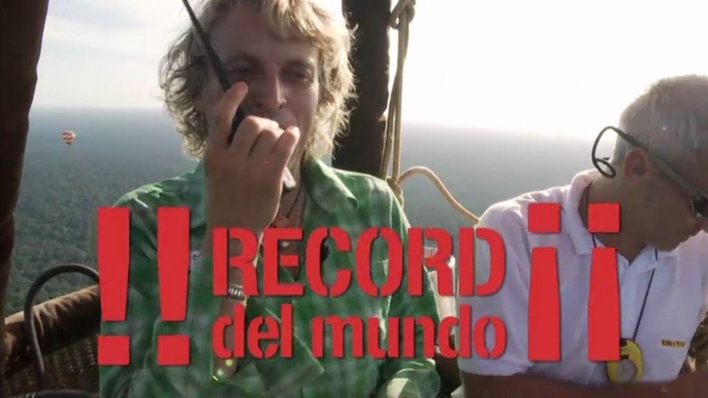 El álbum del récord en globo